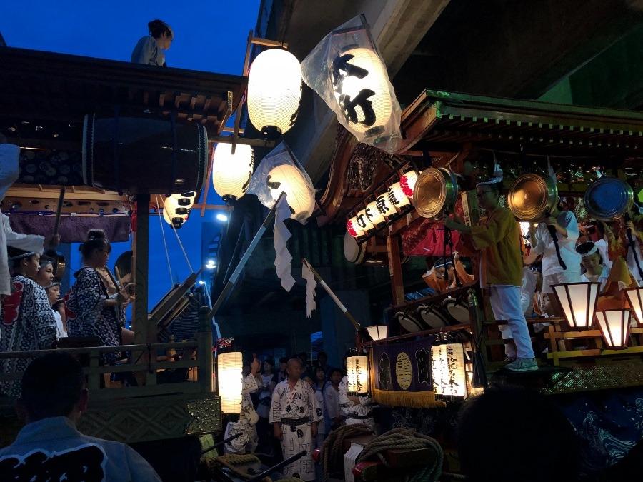 籠原祭り開催中!